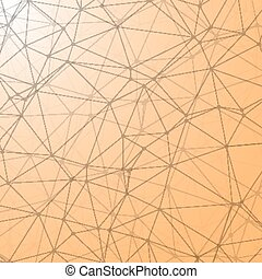 Illustration of lines geometric connections vector