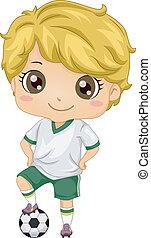 Kid Soccer Boy