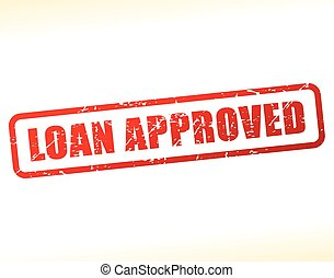 loan approved text buffered