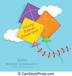 Makar Sankranti - illustration of Makar Sankranti wallpaper ...