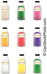 many bottle of juice
