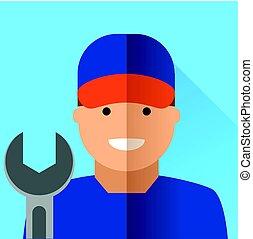 mechanic icon design