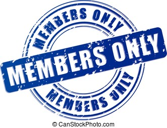 members only blue stamp