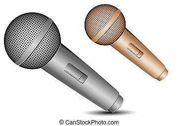 mic icons