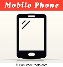 mobile phone vector icon design