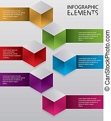 Illustration of Modern infographic chart - An Illustration...