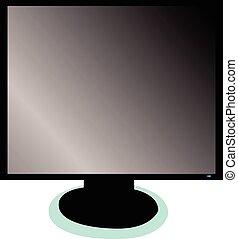 illustration of monitor