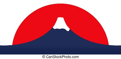 Mount Fuji - Illustration of Mount Fuji