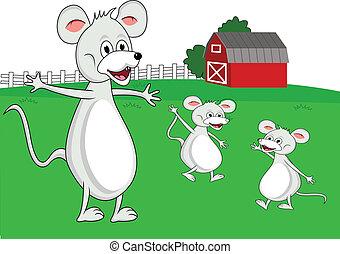 mouse family cartoon