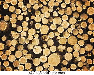 lumber background - illustration of natural pine lumber...