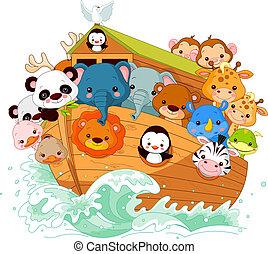 Illustration of Noah's Ark