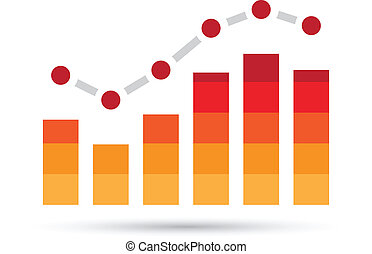 Orange Stats Bars