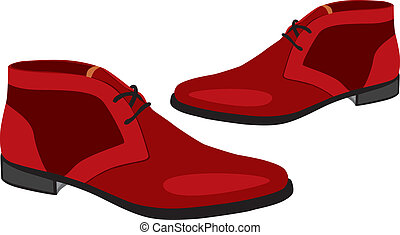 illustration of pair shoes
