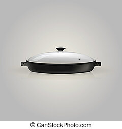Illustration of pan