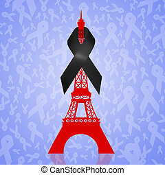 Paris in mourning