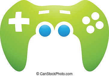 PC Accessories Game Controller - Illustration of PC...