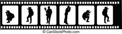 photographers 2 - vector