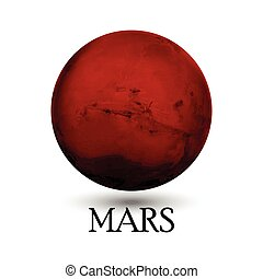 Planet Mars - Illustration of Planet Mars