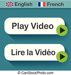 play video button with french translation