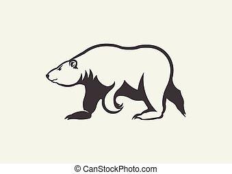 polar bear mascot