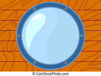 illustration of porthole