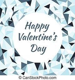 illustration of postcard for valentine's day