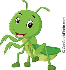 Praying mantis cartoon - illustration of Praying mantis...