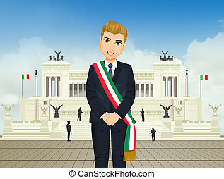 Prime Minister before the Quirinale - illustration of Prime ...