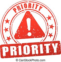 priority stamp icon