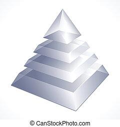 prism - illustration of prism on white background
