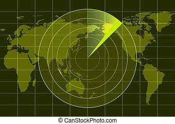 radar - illustration of radar