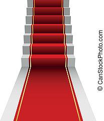 illustration of red Carpet