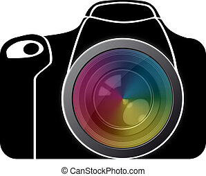 reflex with spectrum lens