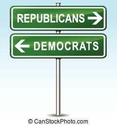 republicans and democrats directions