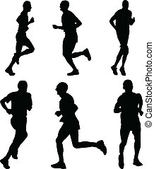 running people 3 - vector