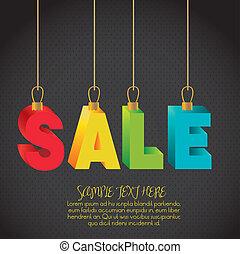 illustration of sale