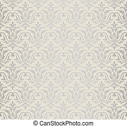 illustration of seamless floral background