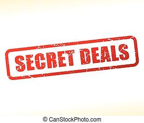 secret deals text buffered