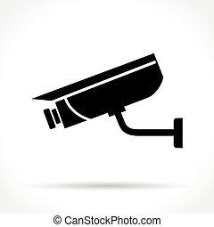 security camera icon - Illustration of security camera icon...