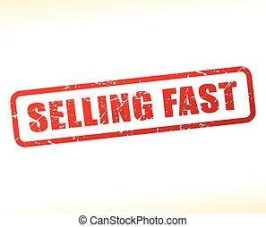 selling fast text buffered