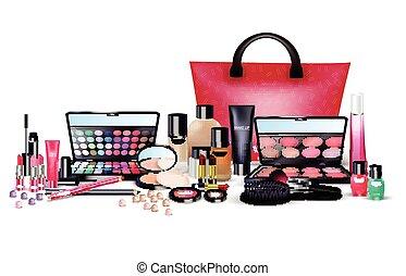 Set of cosmetics