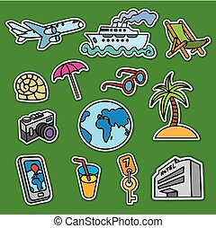 stickers for tourism