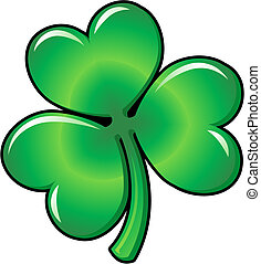 Illustration of Shamrock clover - Illustration of green...