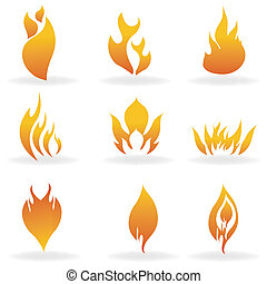 shapes of fire