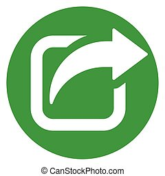 share green circle icon