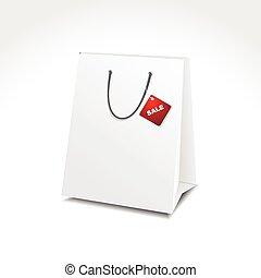 illustration of shopping bag