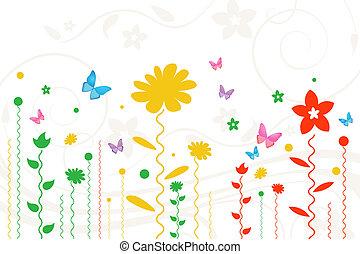 simple floral card