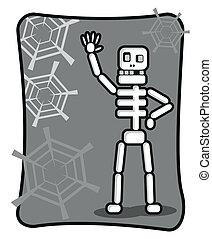 skeleton - illustration of skeleton