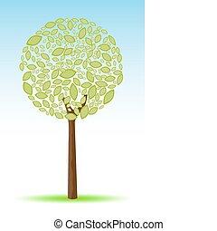 sketchy tree