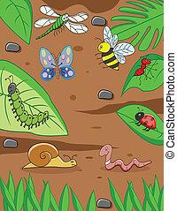 small animal cartoon